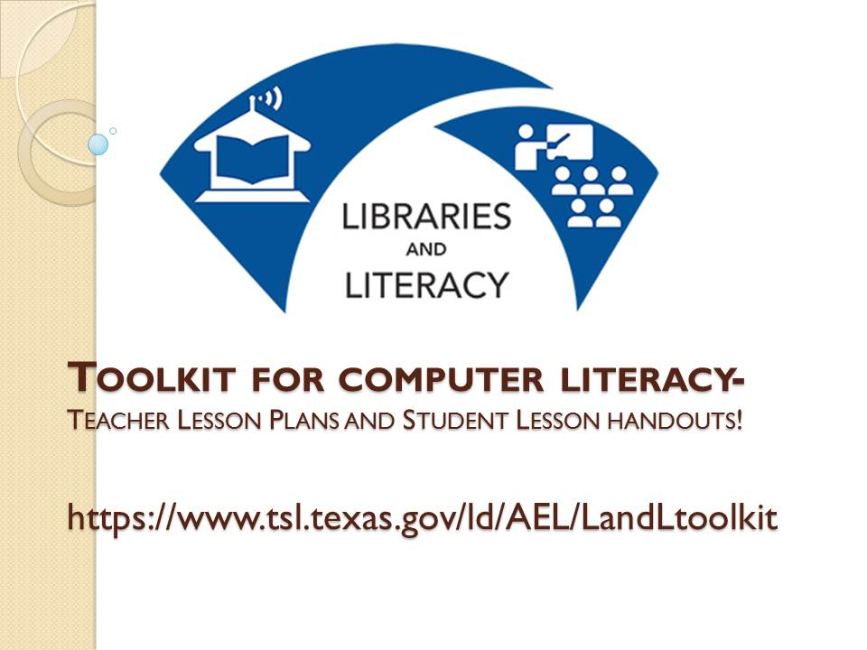 Toolkit for computer literacy-